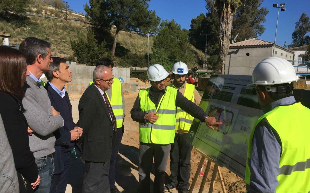 Visita oficial a la nueva depuradora de Arcos de la Frontera. Cádiz