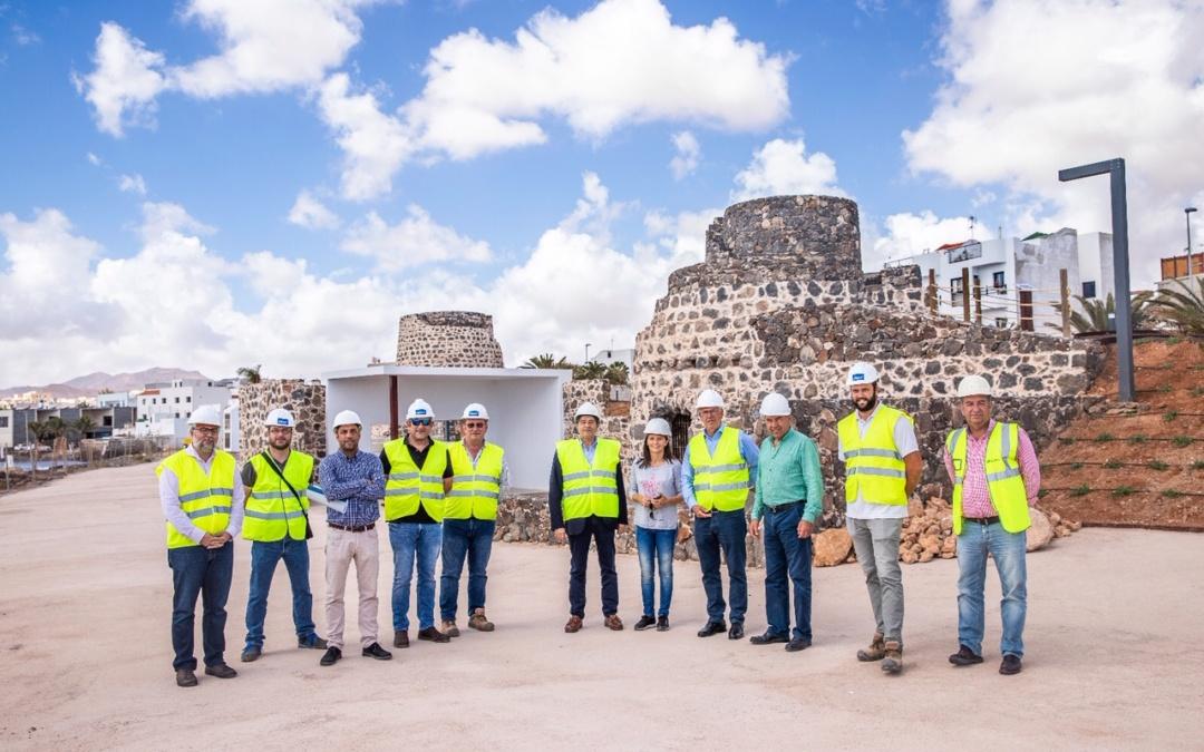 Recepción de la Obra «Rehabilitación Hornos de Cal en Fuerteventura»