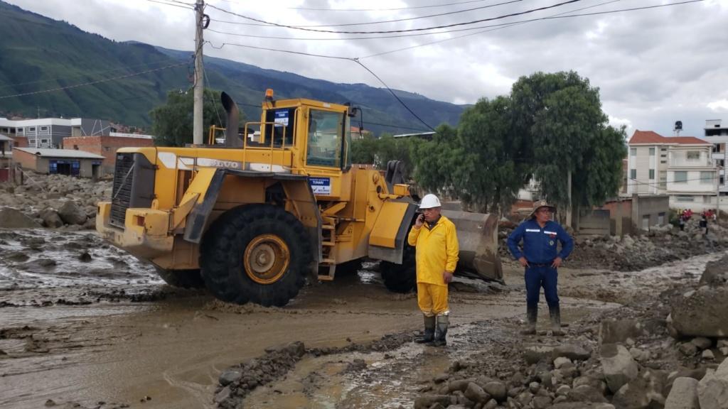 Emergencia en Tiquipaya, Bolivia